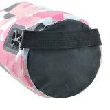 Sac sec à sac imperméable à l'eau de PVC du camouflage 500d avec la configuration