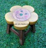 Tabouret Taboret artisanal en bois massif d'enfants dans les chaussures de selles (M-X3816)