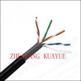 4 accoppiamenti esterni di Cat5e UTP 24AWG/Computer del cavo di dati di cavo di comunicazione di cavo del connettore del cavo dell'audio