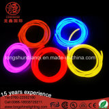 Qualité DEL 360 lumière au néon rouge flexible Ce&RoHS de corde du diamètre 16mm de vue de degré