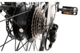 フレームを通したステップのリチウム電池の電気バイク