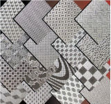 Edelstahl-Farbe ätzte Blatt Ket011 für Dekoration-Materialien