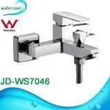 Misturador de bronze do Faucet do chuveiro do punho do quadrado do banheiro do cromo