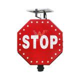 ポーランド人の太陽交通標識が付いているアルミニウムLED停止印
