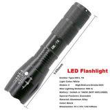 Summen-Fackel-wasserdichter Modus 3800lm 5 der LED-Taschenlampen-18650