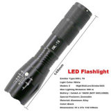 Modo impermeable 3800lm 5 de la antorcha del zoom de la linterna 18650 del LED