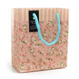 Bolso promocional del embalaje del papel de Kraft del bolso de compras de la ropa