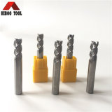 Chine Factory Carbide End Mill Cutter pour l'aluminium