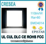 luz fina super da lâmpada de painel do diodo emissor de luz 100-277V
