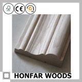 Baumaterial-weißes Holz, das für Wand/Fußboden umsäumt