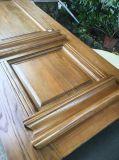 Doppio portello di legno di legno solido dell'entrata anteriore per la villa (GSP1-030)