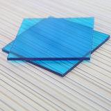 Chapa de folha de folha sólida de policarbonato folha de PC Corugated para cobertura de piscina