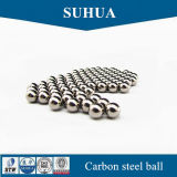 bola de acero de carbón de 7m m para la bola de metal sólida del rodamiento