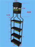Metallwein-Ausstellungsstand für Cocktail-Einzelverkauf