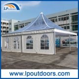 10X10m Outdoor Luxury Clear Roof Marquee Pagoda Tenda para casamento