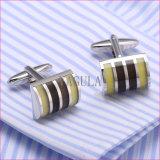 Cufflinks Van uitstekende kwaliteit 310 van het Overhemd van de Diamant van de Manchetknopen van Catseye Gemelos van Manchetten VAGULA