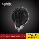 """베스트셀러 라운드 3 """" 트럭을%s 12W LED 자동 일 램프"""