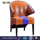 중국 제조자 고품질 이용된 대중음식점 시골풍 다방 목제 까만 의자
