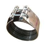 Напечатайте соединение/зажим для резиновой трубы на машинке трубы f с резиной внутрь
