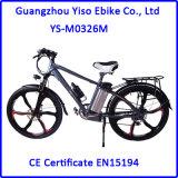 マグネシウムの車輪が付いている26inch李イオン電池山Eのバイク