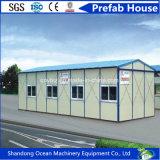 Casa prefabricada del bajo costo de la estructura de acero ligera Material de construcción