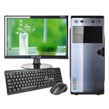 Desktop allen in Één Computer van PC met Monitor en DVD RW en Geheugen