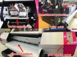 Grand format 1.8m Machine d'impression avec autocollant avec imprimante DX5 Original 1440dpi Injecteur de solvants Eco intérieur et extérieur