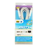 O cabo liso de Sipu 1.4V HDMI com Ethernet 24k suporta 3D
