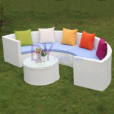 Kreatives PET Rattan-Ausgangsdekoration-Sofa