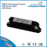 Excitador constante aprovado do diodo emissor de luz da UE da corrente do TUV 30W 0.7A do Ce