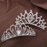 Het vonken van de Kroon van de Tiara's van het Huwelijk van de Kam van het Kristal van het Bergkristal van de Legering