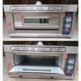 De Oven van de Pizza van het Dek van de Apparatuur van de Machine van het Baksel van het Gas van de Prijs van de fabriek voor Bakkerij 1deck 2trays