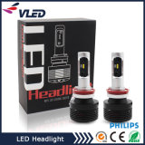 2017 Venta caliente A7 faro de coche Hi / Lo haz de faros LED con diseño de módulo de doble circuito