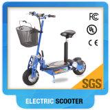 Scooter électrique bon marché pliable de poids léger de la grande roue 2 meilleur pour des adultes avec du ce et la conformité de RoHS