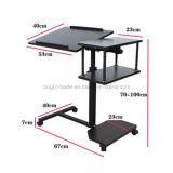 고도 조정가능한 컴퓨터 책상 또는 휴대용 퍼스널 컴퓨터 책상
