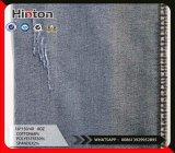 Напряжение питания на заводе 16s саржа хлопок полиэстер спандекс джинсовой ткани 8 унции темного цвета
