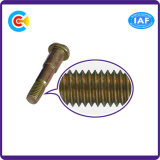 Building Railway를 위한 DIN/ANSI/BS/JIS 탄소 Steel 또는 스테인리스 Steel 4.8/8.8/10.9 Galvanized Oval Step Screws