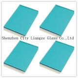 装飾か建物のためにガラス5mm海洋青い染められたGlass&Color Glass&Painted