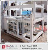 Chaîne de production de bloc de gypse équipée de salle de séchage 600*550*100