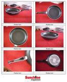 Servizio di controllo di controllo di qualità del Cookware e prova/rapporto d'ispezione completo
