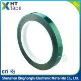 Nastro di isolamento laterale adesivo del condotto elettrico del silicone di PTFE singolo