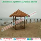Chaume synthétique de paume normale de regard pour la barre de Tiki/parapluie de plage couvert de chaume synthétique de pavillon de l'eau de maison hutte de Tiki 14
