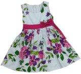 Van het Katoenen van het meisje de Slijtage Clothing/Children Meisje Dress/Children van de Kleding/van de Bloem