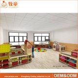 学校家具、中国製子供の家具は、タイプおよび木材料の自由な託児所の家具をセットした