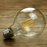 G80 지구 LED 필라멘트 Edison 전구 4W E27 포도 수확 작풍 LED 필라멘트 전구