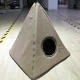 공장 OEM 삼각형 Foldable 애완 동물 집 침대 고양이 개 천막