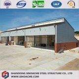 Sinoacme fabrizierte große Überspannungs-Stahlkonstruktion-Flugzeug-Hangar vor
