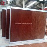 Cojín de enfriamiento evaporativo con papel de fibra corrugada (7090)