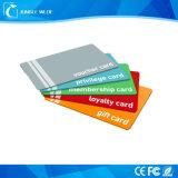 Ntag 215 cartões de plástico RFID com fita magnética