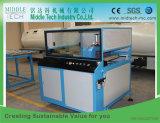 El plástico de madera (WPC) compone la máquina del estirador del perfil de la puerta/del Decking